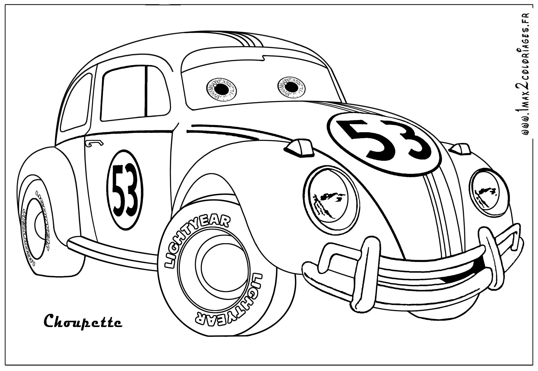 coloring pictures printable car vw bus coloring pages